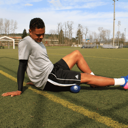 Soccer player using Orb