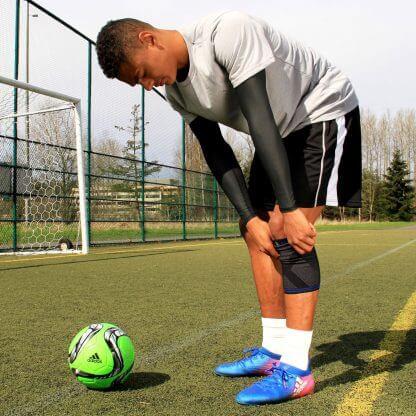 3D Knee on soccer player