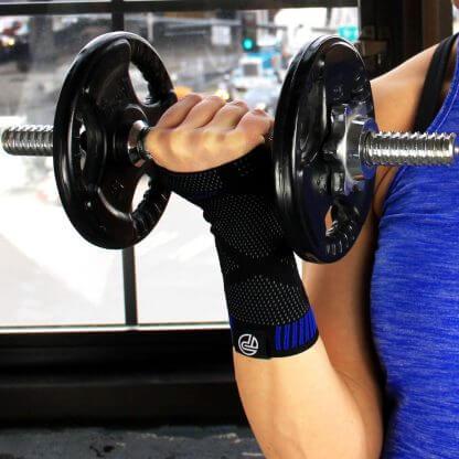 3D Wrist lifting weights