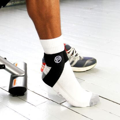 Achilles Tendon Support in use