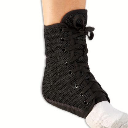Ankle Brace on foot