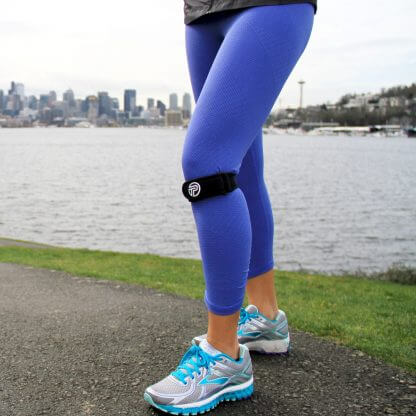 Knee Pro-Tec on runner
