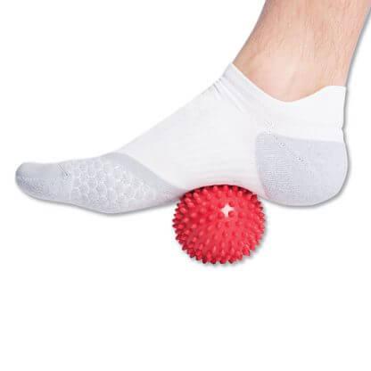 Spiky Ball under Foot