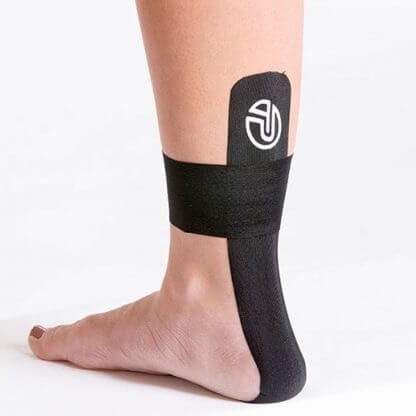 Kinesiology Tape on Foot